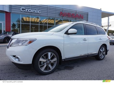2015 Pearl White Nissan Pathfinder Platinum 98815603