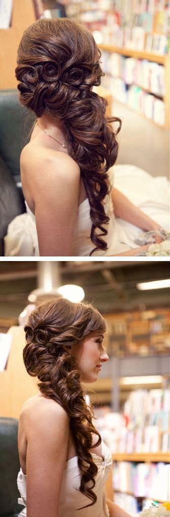wedding hairstyles  long hair  creative unique wedding styles