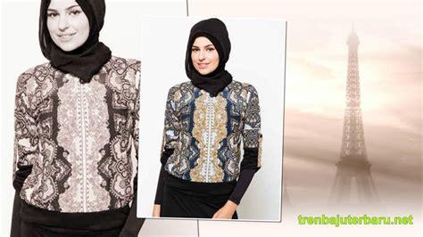 Baju Muslim Wolycrape Wanita Ar2610 33 tren model baju batik muslim wanita terbaru 2016