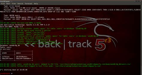 sqlmap tutorial in kali linux tutorial sql injection dengan sqlmap kali linux