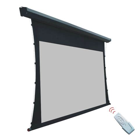 Motorized Screen Proyektor 213x213cm elite screens projeksiyon perdesi