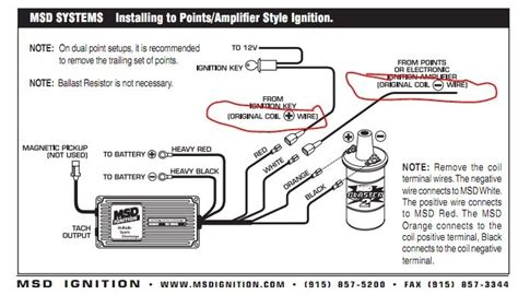msd wiring diagram wiring diagram with
