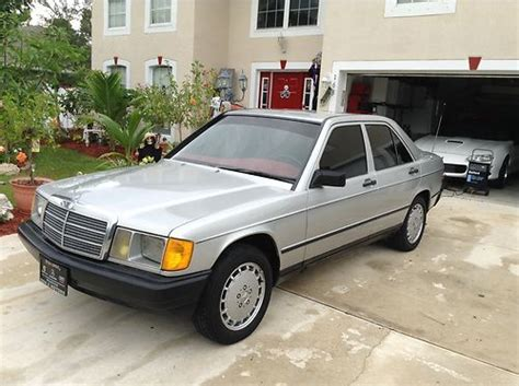 auto air conditioning service 1985 mercedes benz w201 user handbook sell used 1985 mercedes benz 190 e clean runs smooth cold a c in palm bay florida united