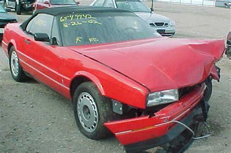 Cadillac Allante Parts by 1991 Cadillac Allante For Parts On Line Auto Parts Store