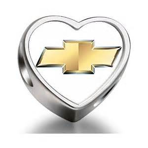 pandora chevrolet car logo charm