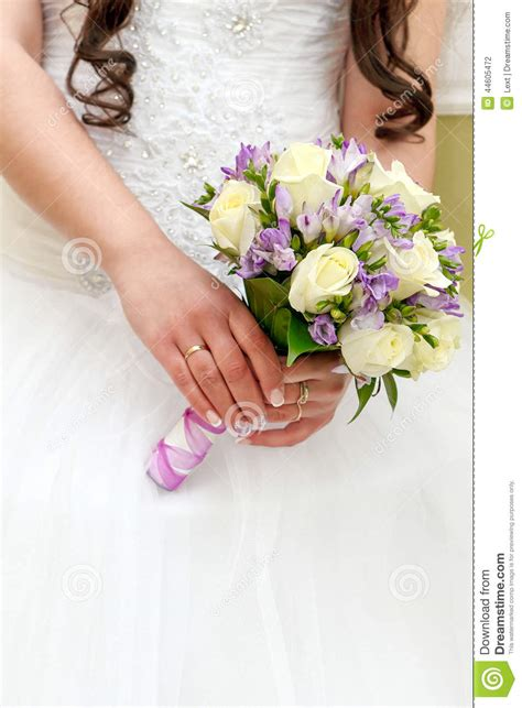 Wedding Flower Bunch by Wedding Bunch Flowers In Of The Stock Photo