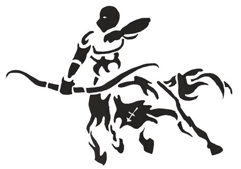 tribal tattoo logo sagittarius tattoos designs ideas and meaning tattoos