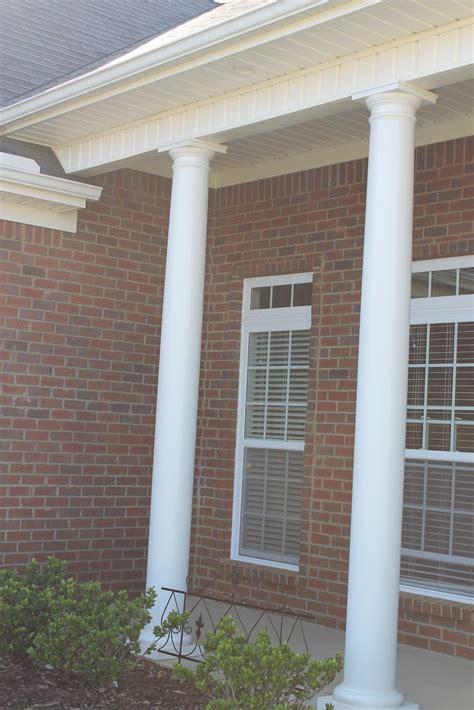 Outdoor Porch Columns dens gens creatifs front porch column bird solution