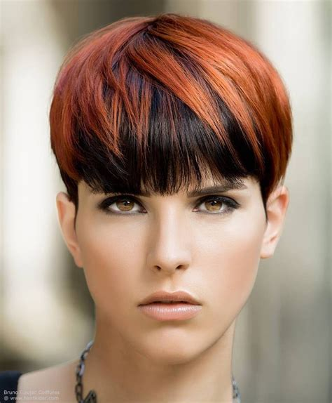 what is an underlayer hair cut pixie cut with a short nape section and layered colors