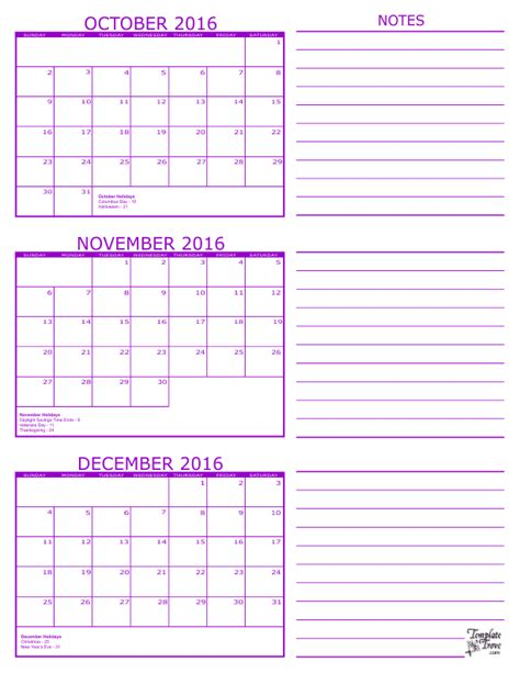 printable calendar october november december 2017 oct nov calendar 2016 calendar template 2018