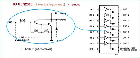 Ic Uln 2004 A simple inverter circuit using cd4047 and uln2003