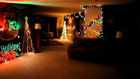 indoor christmas lights to music youtube