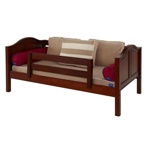 platform bed in chestnut with curved bed ends by maxtrix 200 chestnut yeah daybed with curved bed ends by maxtrix 240