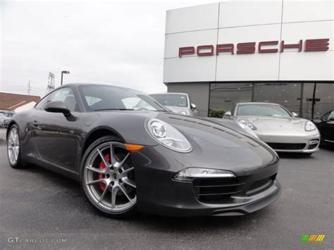 grey porsche 911 2012 agate grey metallic porsche new 911 carrera s coupe