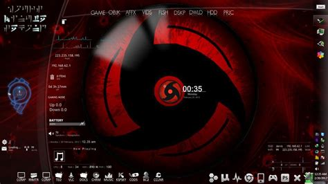themes for windows 8 1 naruto naruto rainmeter enigma by aryanakanskh on deviantart