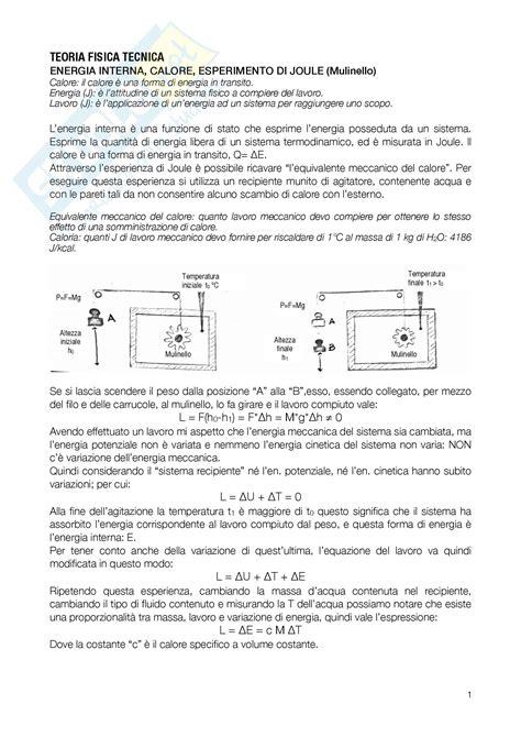 dispense di fisica tecnica fsica mecnica equazioni di fisica tecnica schema
