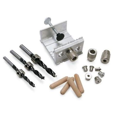 general tools aluminum ez dowel joining jig kit 841 the