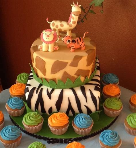 safari cakes decoration ideas  birthday cakes