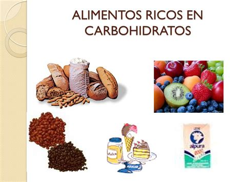 alimentos ricos en carbohidratos conteo de carbohidratos ppt descargar
