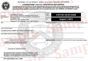 apply for a license bureau of tobacco firearms