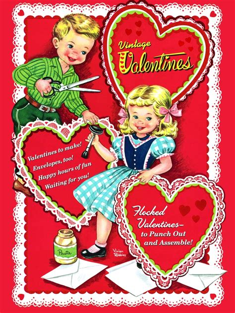 golden book vintage valentines and classic