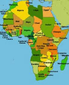Africa Country Map by Mrs World Map Country