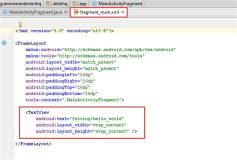 android listview layout android tutorial daten mit einem listview anzeigen