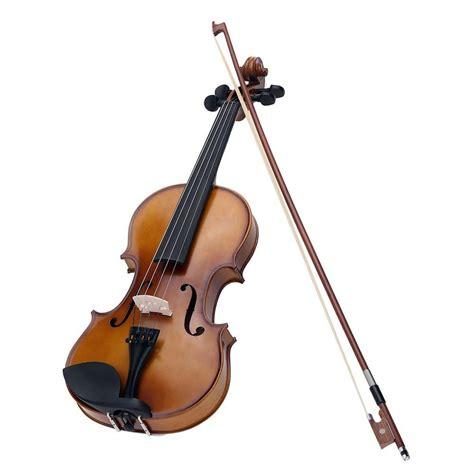 Biola Violin 1 4 4 4 size violin solid wood antique matte finish