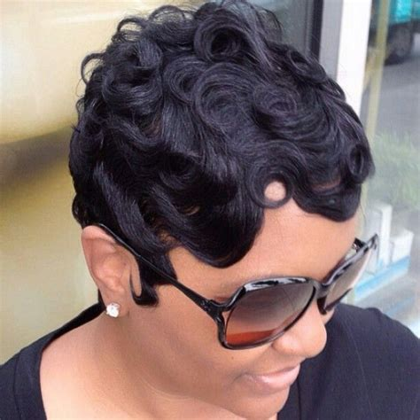 how to get soft wave curls african american hair soft finger waves hair pinterest