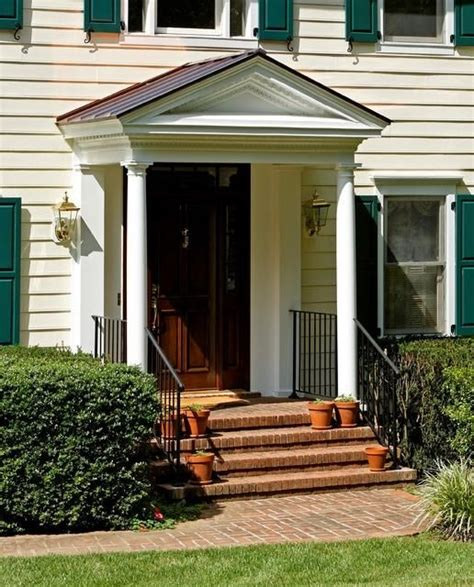portico on colonial house traditional colonial portico traditional entry dc