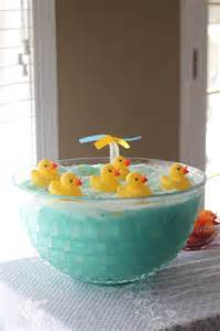 rubber duck baby shower in the green house