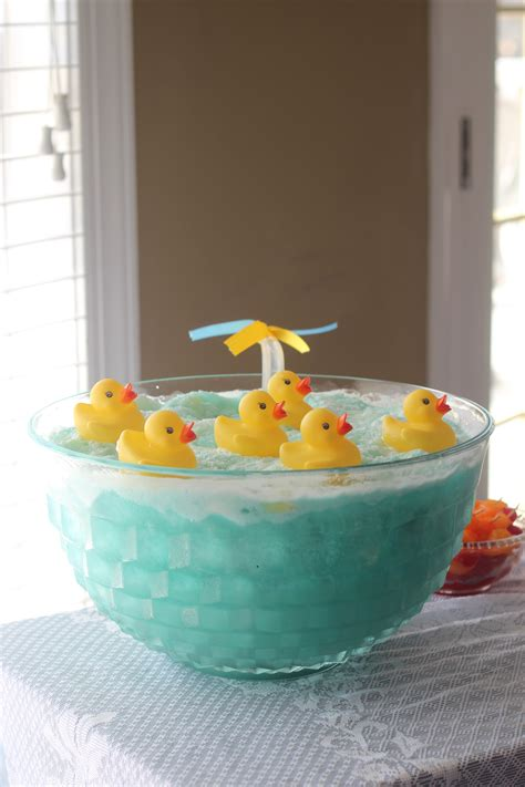 Rubber Duck Baby Shower Ideas by Rubber Duck Baby Shower In The Green House
