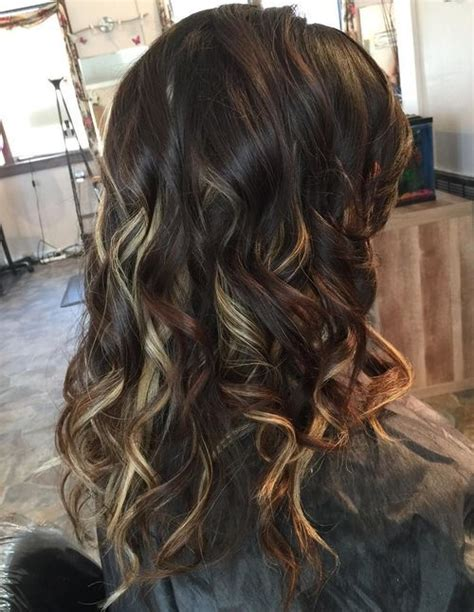 hairstyles peekaboo highlights 20 pretty ideas of peek a boo highlights for any hair color