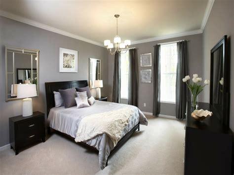 graue vorhänge schlafzimmer 1001 ideen f 252 r schlafzimmer grau gestalten zum entlehnen