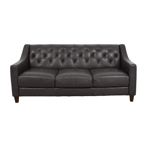 macy s grey leather sofa 69 macy s macy s tufted gray leather sofa sofas