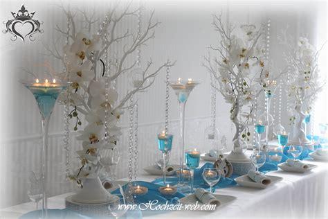 Deko Hochzeit Blau by Hochzeitsdekoration Und Eventdekoration In Blau Farbe