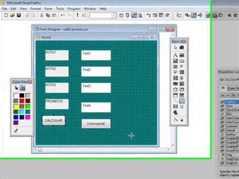 imagenes de visual fox visual foxpro 9 0 sencilla aplicacion doovi
