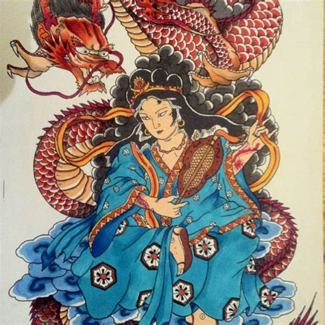 tattoo geisha dragon geisha tattoo design ideas using dragons other