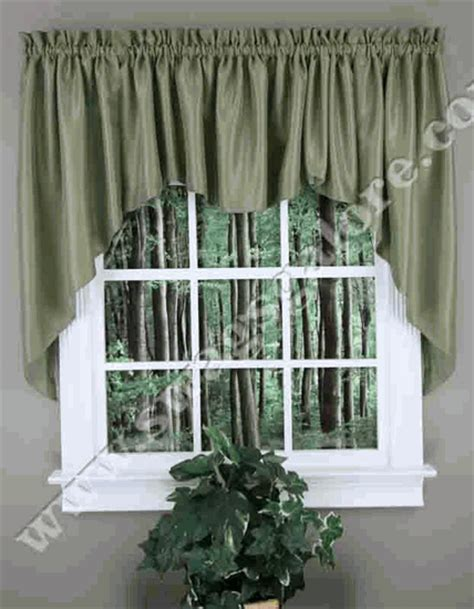 jabot curtain reflections lined jabot set blue lined swag twill
