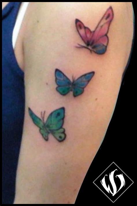 tatuaggi farfalle colorate e fiori gallery farfalle