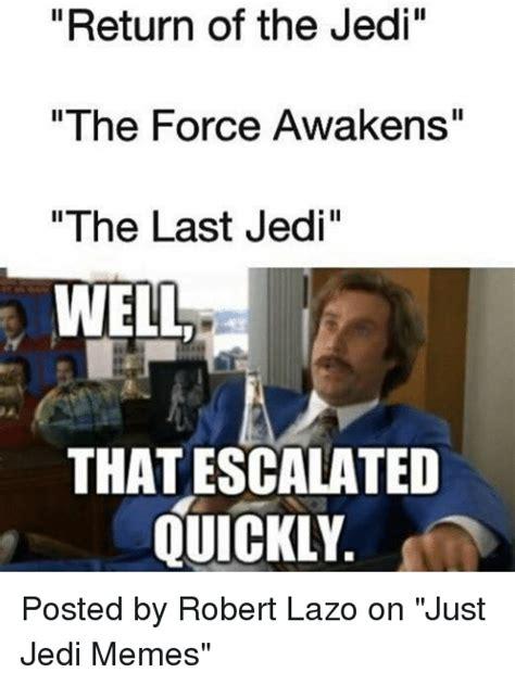 Jedi Meme - 25 best memes about the last jedi the last jedi memes