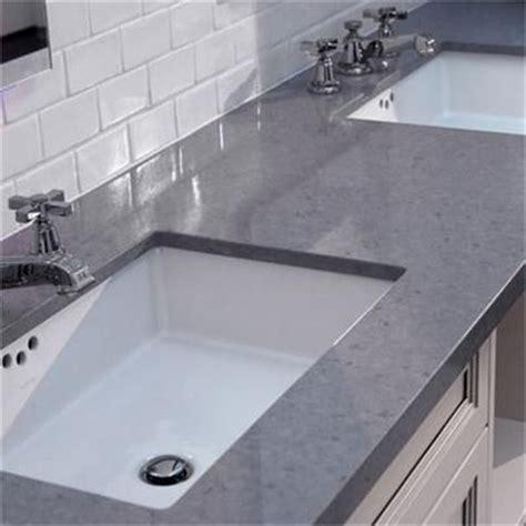 Grey Caesarstone Countertops by Pinstripe Faucet Countertop From Caesarstone