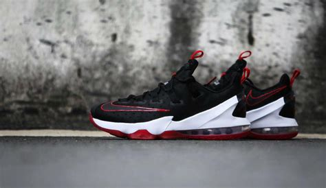 Lebron 13 Low Black White nike lebron 13 low black sole collector