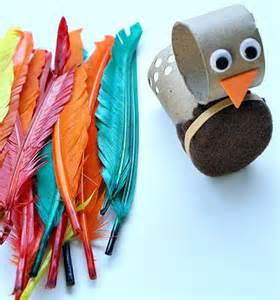 Turkey Craft with Toilet Paper Roll