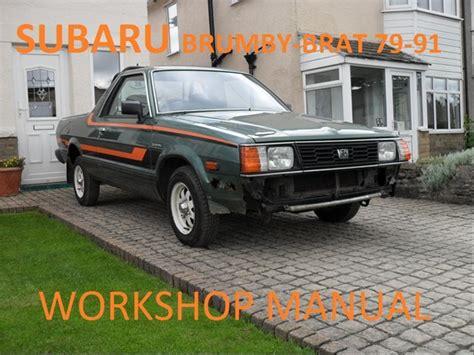 download car manuals pdf free 1984 subaru brat spare parts catalogs subaru brumby brat wagon 4wd workshop manual download manuals am