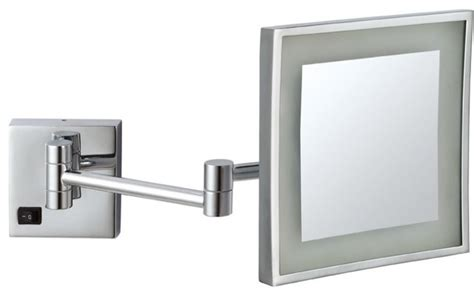 wall mounted lighted makeup mirror wall mounted 3x lighted makeup mirror contemporary