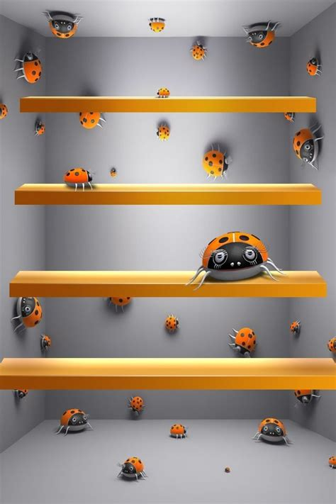 3d Shelf Wallpaper by Shelf Backgrounds Beautiful Shelves For Your Iphone