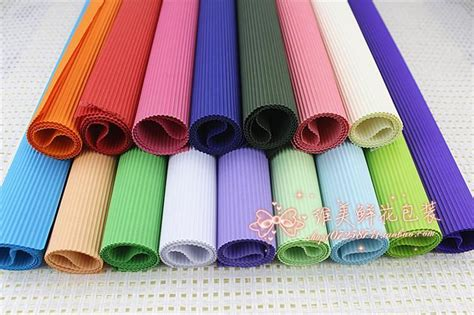 Handmade Paper Diy - solid color corrugated paper diy handmade paper gift