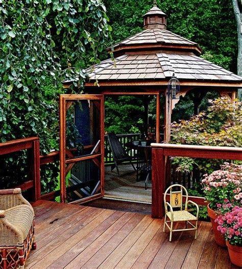 Outdoor Gazebo Rooms 25 Best Ideas About Deck Gazebo On