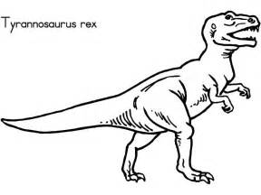 gallery gt rex skeleton coloring pages